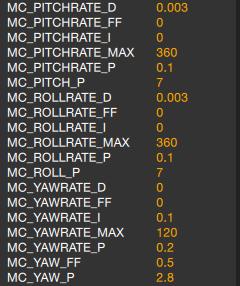 PX4/VTOL - Gitter