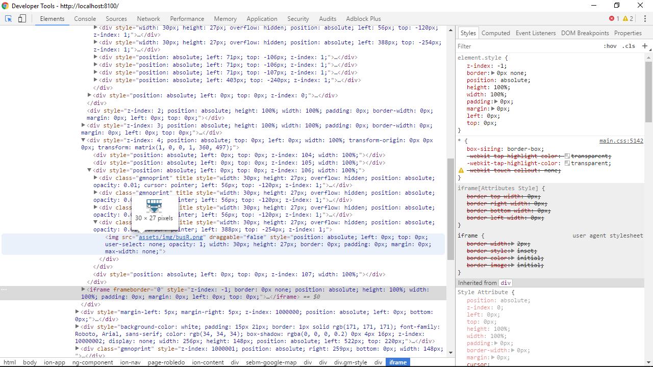 SebastianM/angular2-google-maps - Gitter