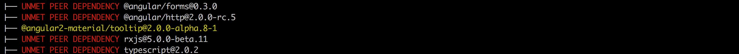 angular/material2 - Gitter