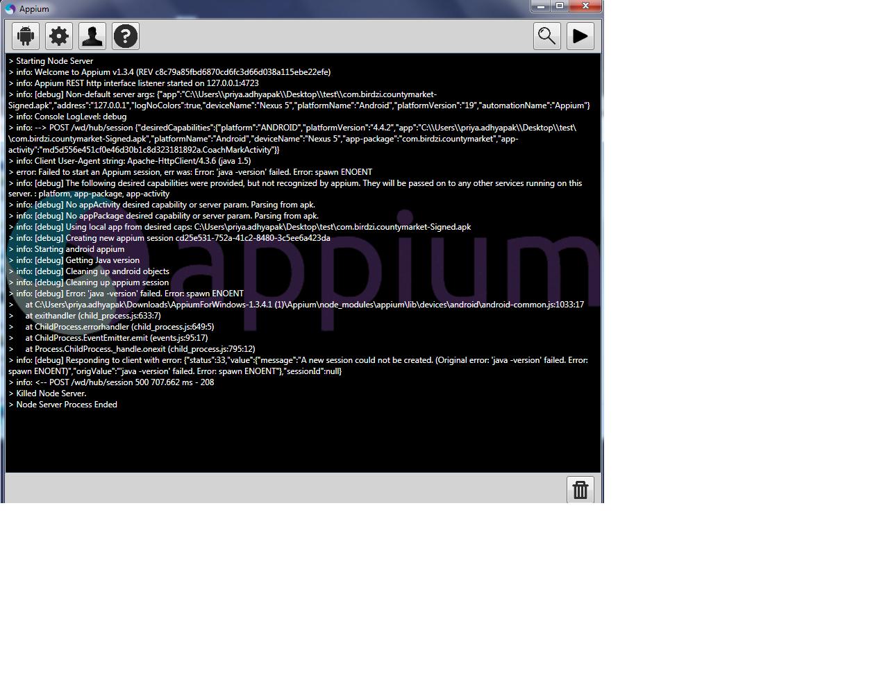 appium/appium - Gitter