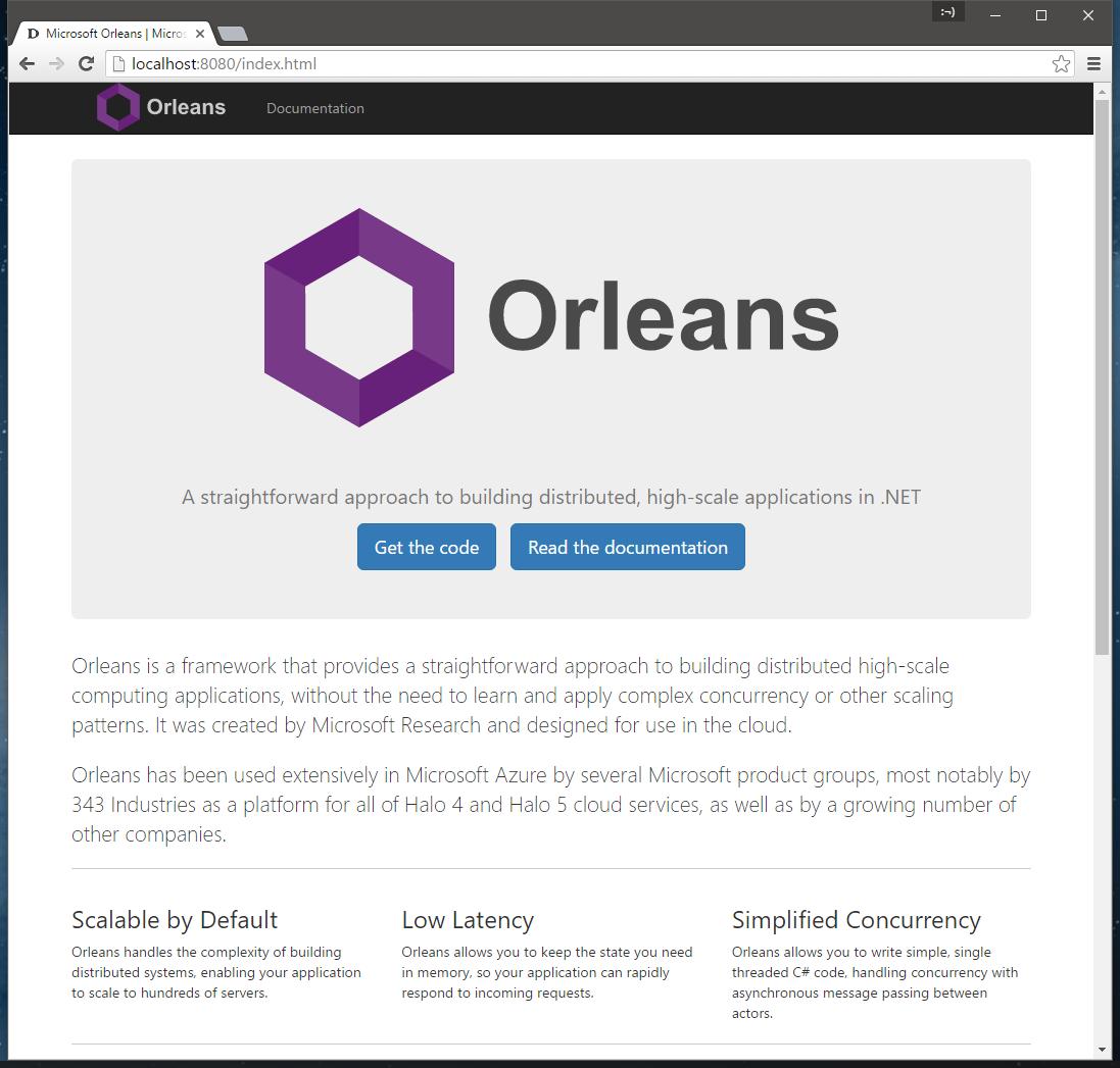 dotnet/orleans - Gitter