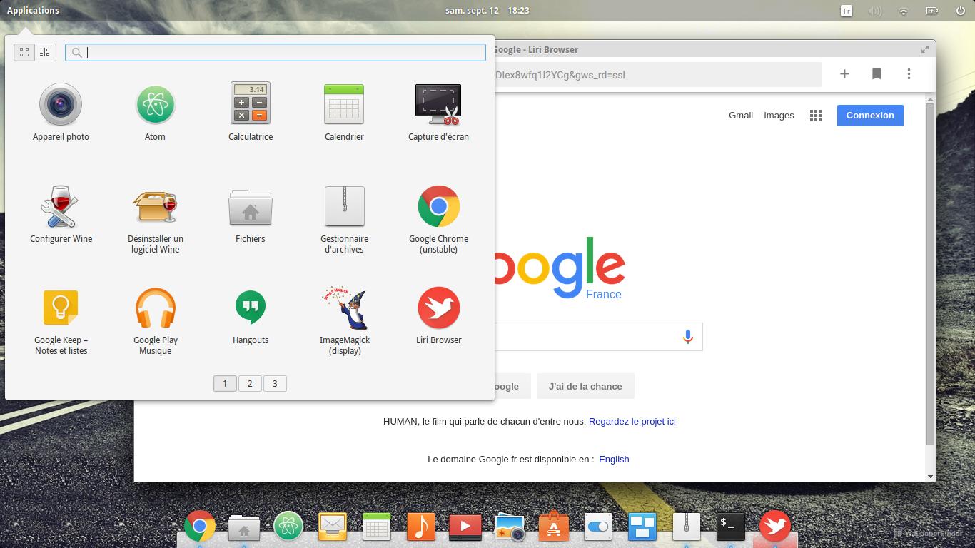 liri-project/liri-browser - Gitter