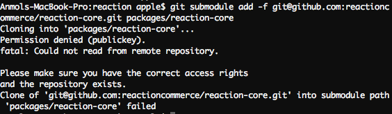reactioncommerce/reaction - Gitter