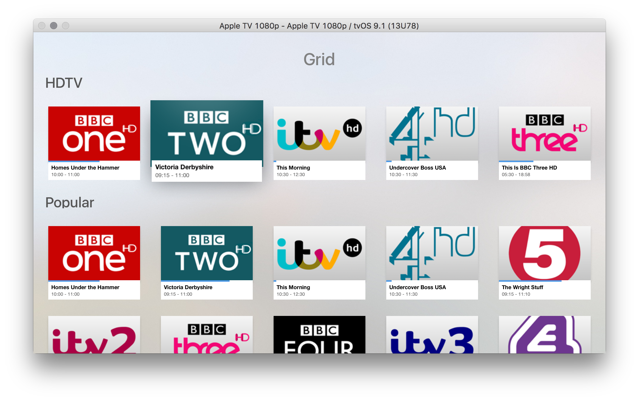 Tvheadend Channel Icons